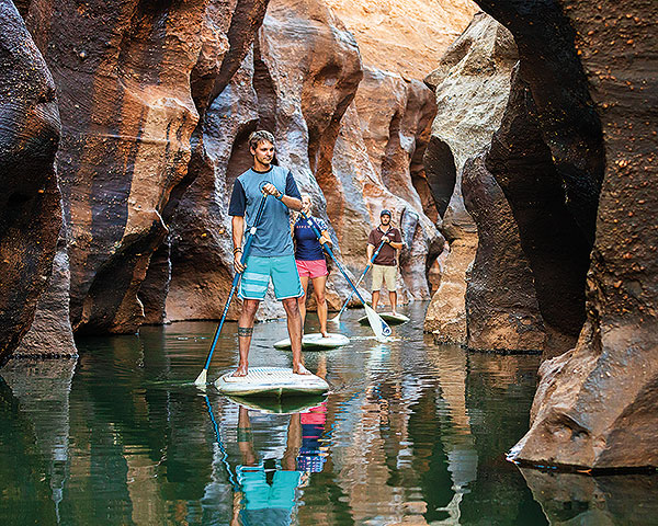 Stand Up Paddleboarding at Cobbold Gorge